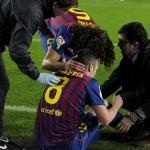 Barcelona arrasó en la Copa del Rey pero perdió a Iniesta