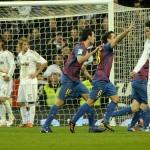 Barcelona ganó 2 a 1 al Real Madrid en cuartos de ida de la Copa del Rey