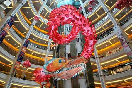 Decoración-en-un-shopping-de-Indonesia-por-el-año-lunar-chino-AFP