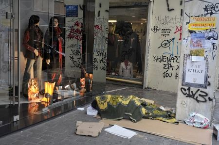 Grecia pobreza afp