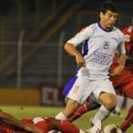 Rodrigo Mora llegó a Montevideo y fue presentado en Peñarol