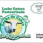 """Lanzan distribución al público de la leche de cabra """"La Kaprina"""" en sachets biodegradables"""