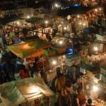 Gendarmería desaloja 10 mil puestos informales de megaferia La Salada