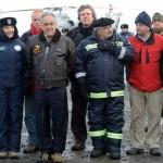 Lucía y Mujica, Cecilia y Piñera comparten ameno fin de semana en la Antártida