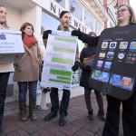 Protestas en tiendas Apple por condiciones laborales en fábricas en China