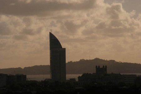 Día nublado Montevideo
