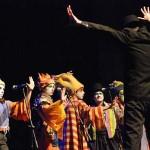 Teatro de Verano: por lluvia suspendieron etapa pero igual actuaron