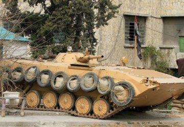 Tanque de guerra Siria AFP