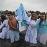 Culto a Yemanjá trasciende religión y se vive como fiesta popular