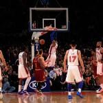 Knicks vencen a Cavaliers 120-103 con Carmelo y Lin a la cabeza