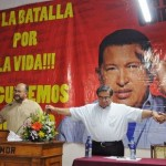 """Tras la operación reaparece Chávez: """"Acá estoy levantando el vuelo como el cóndor"""""""