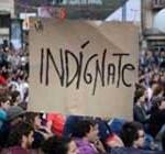 """""""Indignados"""" de Barcelona acampan en el centro a un año del 15-M"""