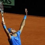 Del Potro gana en la Copa Davis y baja en el ranking ATP