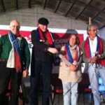 Cuatro candidatos a la presidencia del FA convergieron en la unidad