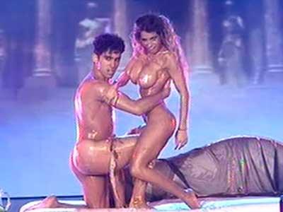 Video desnudo de la celebridad