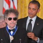 Obama premió a Bob Dylan