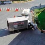 Chile: asaltantes a pie roban un millón de dólares de un camión de seguridad en el barrio de Las Condes