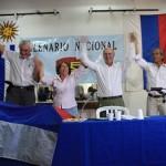 Más de 170 mil frenteamplistas eligieron ayer al presidente y a los 20 plenarios de la coalición