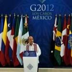 Mandatarios del G-20 inician cumbre buscando soluciones a la crisis europea y otros nubarrones sobre la economía mundial