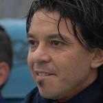 """El """"Muñeco"""" Gallardo es campeón del fútbol uruguayo en su debut como entrenador"""