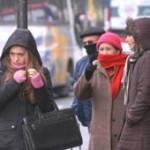 Aguanieve y frío bajo cero en Uruguay, nevadas en Buenos Aires