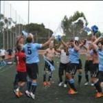 Uruguay vicecampeón mundial: la Celeste se retiró en la final de fútbol gay al ir perdiendo 5-0 ante Argentina