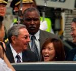 Presidente de Cuba arriba a China en su primer viaje al extranjero desde que asumió