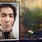 "Hugo Chávez devela ""el verdadero rostro"" del libertador Simón Bolívar"