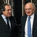 """Mueve Almagro: nuevo capítulo en la """"guerrita"""" particular de comunicados entre los cancilleres de Uruguay y Argentina"""