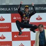 Webber vence en Gran Bretaña por delante de Alonso y Vettel