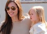 Hija de Jolie y Pitt es actriz a los 4 años