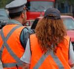 Noche de la Nostalgia: inspectores de tránsito no quieren trabajar