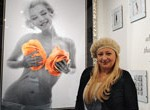 Impactantes fotos inusuales de Marilyn Monroe cautivan a montevideanos y turistas
