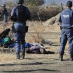 Suman 30 mineros huelguistas sudafricanos asesinados por la policía frente a las cámaras de TV