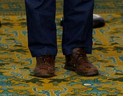 Los zapatos viejos de Mujica