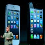 Apple presenta su nuevo teléfono iPhone 5, a la venta el 21 de septiembre