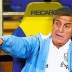 Para Tabárez, lo determinante en la derrota fue el el gol de Falcao