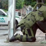 Retiran bomba de la embajada uruguaya en Venezuela