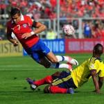 Colombia aplasta de visita a Chile 3 a 1 y acaricia la chance de clasificar