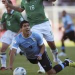Uruguay favorito, campeón de América, cayó en zona de riesgo en eliminatorias