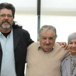 Mujica se reunió con Abel Prieto, escritor, consejero y exministro de Cultura de Cuba