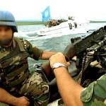 Recambio del contingente militar uruguayo apostado en la misión de paz en el Congo