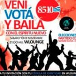 """""""Votá y Bailá"""": colorados enfrentados por elecciones internas de su juventud"""