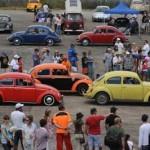 Escarabajo VW: fanáticos rinden culto en Uruguay al popular auto alemán