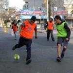 """Fútbol Callejero copa Montevideo: """"Donde derechos y valores son goles"""""""