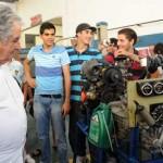 """Mujica aconseja a estudiantes de UTU a no ir a clase al """"pedo"""""""