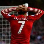 Suárez suma doblete y lidera solito la tabla de romperedes en la Premier League