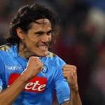 Cavani mojó en el Calcio para el Nápoles y queda a dos goles de El Shaarawy
