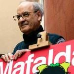 El dibujante argentino Quino fue galardonado en Francia con la Medalla de las Artes y las Letras