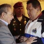 El presidente cubano Raúl Castro le asegura a Maduro que Venezuela puede afrontar cualquier desafío
